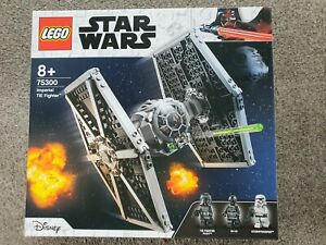 New LEGO Star Wars Imperial TIE Fighter Playset (75300)
