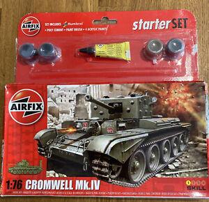 Airfix Cromwell Tank Mk IV  Model Starter Set A55109- Brand New In Box
