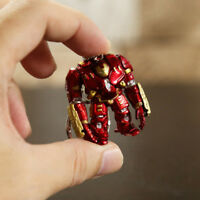 4cm Avengers Iron Man Hulkbuster keychain action Figure Doll PVC Toy Anime