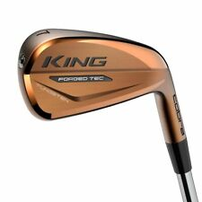 Cobra KING FORGED TEC COPPER IRONS 4-PW Steel KBS $ Taper Lite Shafts