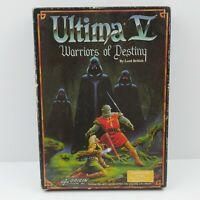 Ultima V Warriors of Destiny C64 Commodore 64/128 Game   Australian GC 4 DISK
