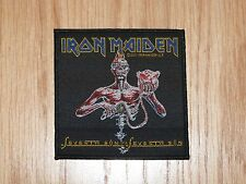 IRON MAIDEN - SEVENTH SON  (NEW) SEW ON PATCH OFFICIAL BAND MERCH