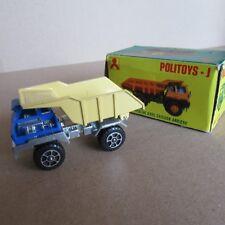 759E Politoys J-23 Perlini T25 Camion Benne TP