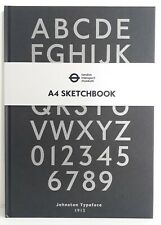 TFL A4 Artist Hardback Sketch Book 150gsm cartridge paper 92 Perforated Pages