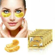 Crystal Collagen 24K Gold Under Eye Anti Ageing Wrinkle Gel Pad Face Mask *UK*