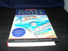 Harry Potter and the chamber of secrets by J. K. Rowling hardback ted smart 2nd