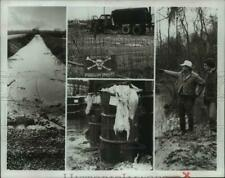 1979 Press Photo Chemical waste in Niagara Fall's Love Canal - hcx44834