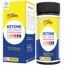 KETO FITNESS Ketone Test Strips. Get accurate results in seconds. Best for Keto