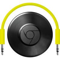 Google Chromecast Audio Media Streamer - Black