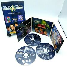 Star Trek Federation Compilation 25TH ANNIVERSARY Interplay Windows 95 PC Game