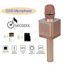Q10S drahtloses Mikrofon Bluetooth KTV beweglicher Handheld für androides IOS DE