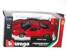 Burago - FERRARI 458 ITALIA (Red) - Model Scale 1:43