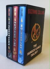 Hunger Games Trilogy Box Set Suzanne Collins (3 HC) Catching Fire Mockingjay