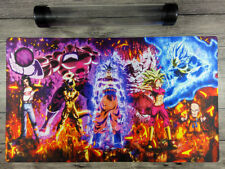Dragon Ball Super Custom Duel Playmat YuGiOh/MTG/VG TCG CCG Mat Free Best Tube