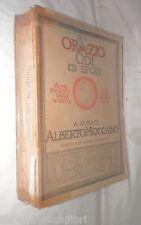 ODI ED EPODI Q Orazio Flacco Alberto Mocchino Mondadori 1946 Classici Latini di