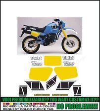 kit adesivi stickers compatibili xt 600 z tenere 34l 1984