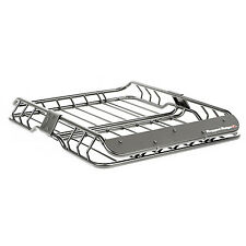 Roof Rack Basket Black Wind Deflector for Jeep Wranglers 11703.03 Rugged Ridge