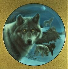 Night Watch Plate Realm of the Wolf Kevin Daniel Gray Black Wolves Bradford #2
