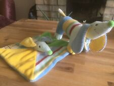 HAPPY HORSE Dog Puppy Comforter Blankie  & Soft Toy Funds For Hedgehog Care
