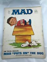 Mad Magazine # 138  October 1970  Peanuts Snoopy Cover Art Parody Jack Rickard