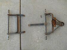 VINTAGE ANTIQUE 1950's CUSTOM VS RADIO FLYER WAGON FRONT AND REAR AXLES ONLY