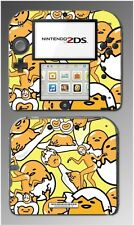Gudetama Cute Lazy Depressed Egg Kitty Video Game Decal Skin Cover Nintendo 2DS