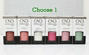 CND Shellac Gel Polish - ENGLISH GARDEN Spring 2020 Collection 7.3ml .25oz Pick1