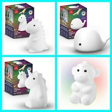 HOT TikTok Famous Tommy Dino Rylie Wally Whale Marley Monkey Night Light Lamp!