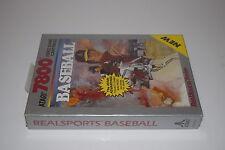 Baseball Real SPorts Series Atari 7800 Game Cartridge New Sealed Box