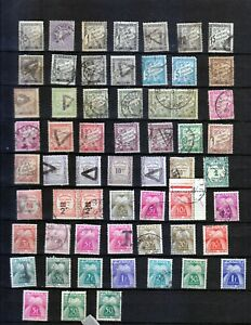 FRANCE  NICE LOT TIMBRES-TAXE   USED