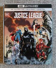 Justice League 4K Steelbook With J-Card Read Description