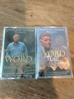 Charlton Heston, Cassettes, Lot Of 2, New Sealed, Bible Stories,