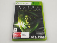 Mint Disc Xbox 360 Alien Isolation Ripley Edition Free Postage