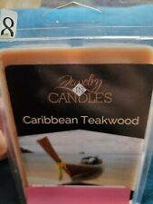 Jewelry In Candles Caribbean Teakwood Wax Melt With Jewelry Surprise Hidden...