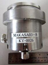 Vacuum Chuck Rotary Pass Thru Bearing Ring MAKASA03-B KY-0026 Stainless Steel