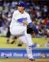 "Hyun-Jin Ryu Los Angeles Dodgers MLB Action Photo (Size: 8"" x 10"")"
