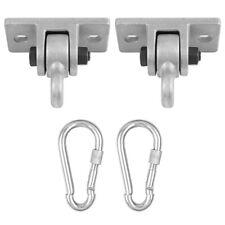2pcs Outdoor Heavy Duty Swing Hangers Yoga Hammock Fixed Suspension Hooks Kits