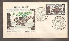 FDC 1ER JOUR 1962 NOUVELLE CALEDONIE KOLONIE FRANKREICH PA N°71 OBLITERE USED
