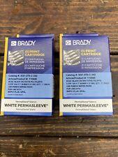 2 Brady M21 375 C 342 Label Cartridgeblackwhite 375 Dia X 7 Permasleeve