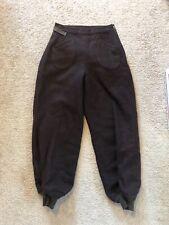 Chippewa Woolen Mills Wool Snow Pants Trousers Side Zip Deco Talon 1930's 27x25