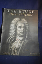 1935 Etude Magazine - Handel & More