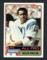 1981 Topps #150 Kellen Winslow NM/NM+ RC Rookie Chargers 62820
