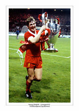 KENNY DALGLISH LIVERPOOL F.C 1978 EUROPEAN CUP A4 PHOTO PRINT