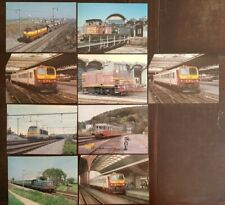 CPM - Carte Postale - Lot de 9 cartes - Trains au Luxembourg (I12529)