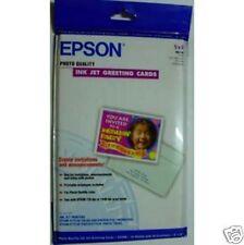 KIT PAPIER EPSON 10x CARTES VOEUX  + ENVELOPPES S041148