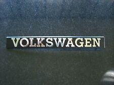 Emblem / Badge Volkswagen, ca. 19 cm lang, 4 Befestigungsstifte Pins