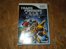 Transformers Prime: The Game (Nintendo Wii, 2012) *****LN*****COMPLETE*****