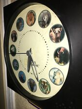 National Geographic Branded. National Geographic Animal Clock.