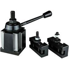 3 Pc Bxa Wedge Tool Post Intro Set Cnc Turningfacing Amp Boring Lathe Holders