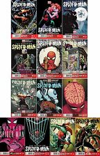 The SUPERIOR SPIDER-MAN (13) Comic Run #1 2 3 4 5 6 7 8 9 10 11 12 MARVEL NOW!